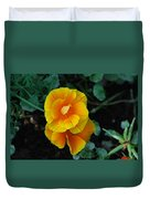 Yellow Wild Flowers Duvet Cover