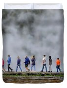 Yellowstone Lineup Duvet Cover