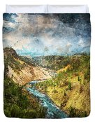 Yellowstone National Park - 05 Duvet Cover