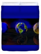 Yesterday, Today And Tomorrow Duvet Cover by Paul Wear