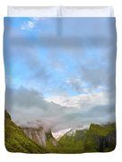 Yosemite On A Good Day Duvet Cover