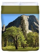 Yosemite Valley Serenity Duvet Cover