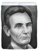 Young Lincoln Lawyer Duvet Cover