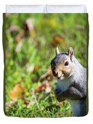 Your Friendly Neighborhood Squirrel Duvet Cover