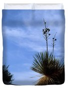 Yucca Plant In Rippled Sand Dunes In White Sands National Monument - Newm500 00107 Duvet Cover