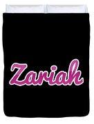 Zariah #zariah Duvet Cover