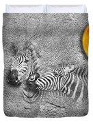Zebras No 02 Duvet Cover