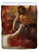 Zeus And Semele Duvet Cover