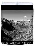 Zion Nationa Park Utah Duvet Cover