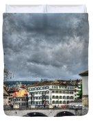 Zurich Switzerland Duvet Cover
