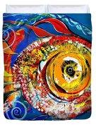 San Antonio Fish Duvet Cover
