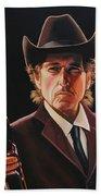 Bob Dylan 2 Bath Towel