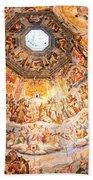 Brunelleschi Cupola Of Florence Duomo. Bath Towel