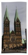 Cathedral Bremen - Germany Bath Towel