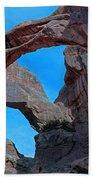 Double Arch - Arches National Park Bath Towel