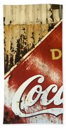 Drink Coca Cola  Memorbelia Bath Towel