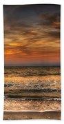 Evening At The Beach Bath Towel