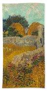 Farmhouse In Provence Bath Towel