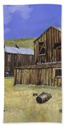 Ghost Town Of Bodie-california Hand Towel
