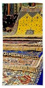 Gorgeous  Berber Rugs In Tangiers-morocco Bath Towel