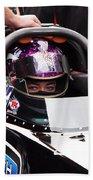 Hillary Will Las Vegas Motor Speed Way Strip Nhra Finals 2008 Bath Towel