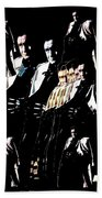 Johnny Cash Multiplied  Bath Towel