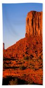 Monument Valley Sunset Bath Towel