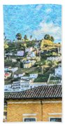 Panecillo Hill Quito	 Bath Towel