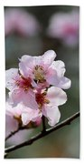Peach Blossoms I Bath Towel