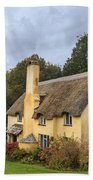 Picturesque Thatched Roof Cottage In Selworthy Bath Towel