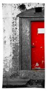 Red Door Perception Hand Towel