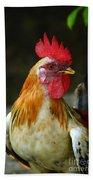Rooster Bath Towel
