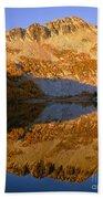 Switchback Peak On Cooney Lake Bath Towel