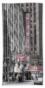 0007 Radio City Music Hall Bath Towel