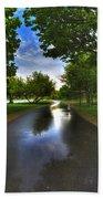 001 After The Rain At Hoyt Lake Bath Towel