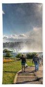 0014 Niagara Falls Misty Blue Series Bath Towel