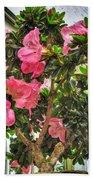 002 Bonsai Summer Show Buffalo Botanical Gardens Series Bath Towel