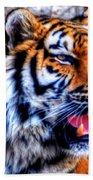002 Siberian Tiger Bath Towel