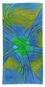 004 Abstract Bath Towel