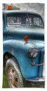0042 Old Blue 2 Bath Towel