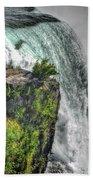 006 Niagara Falls Misty Blue Series Bath Towel