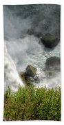 009 Niagara Falls Misty Blue Series Bath Towel