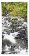 0106 Columbia River Gorge Near Bridal Veil Falls Bath Towel