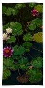 0151-lily -   Expressionist Plein Air Sl Bath Towel