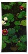 0151-lily -  Colored Photo 1 Bath Towel