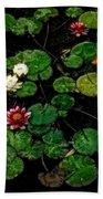 0151-lily -  Watercolor 1 Sl Bath Towel
