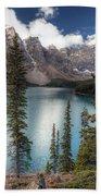 0184 Moraine Lake Bath Towel