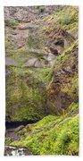 0237 Multnomah Falls Oregon Bath Towel