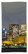 0247 Chicago Skyline Panoramic Bath Towel