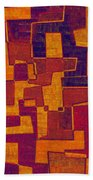 0272 Abstract Thought Bath Towel
